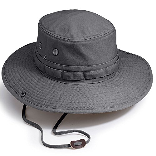 Eastern Mountain Sports EMS Bailey Hat Castlerock Black (Eastern Rim)