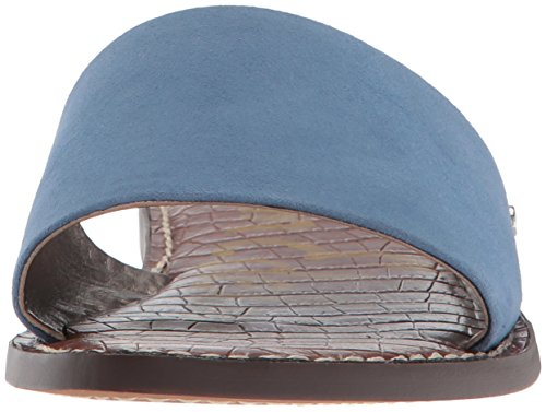 Women's Sam Sandal Suede 400 Gio Blue Denim Edelman Slide Blue 5qIxfq