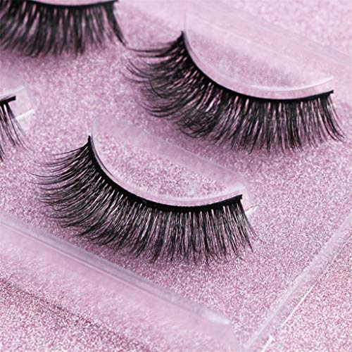 Fake Eyelashes Clearance , Two Pairs of 3D Mink Fur for sale  Delivered anywhere in USA