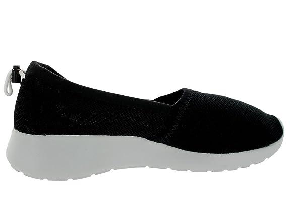 lbemg Nike Roshe Run Slip Black Womens Trainers Size 6 UK: Amazon.co.uk