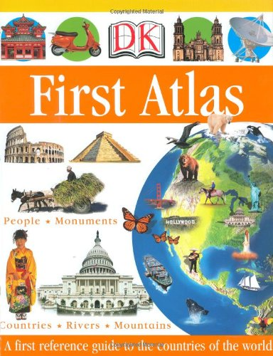 DK First Atlas (DK First Reference Series) (First Map)