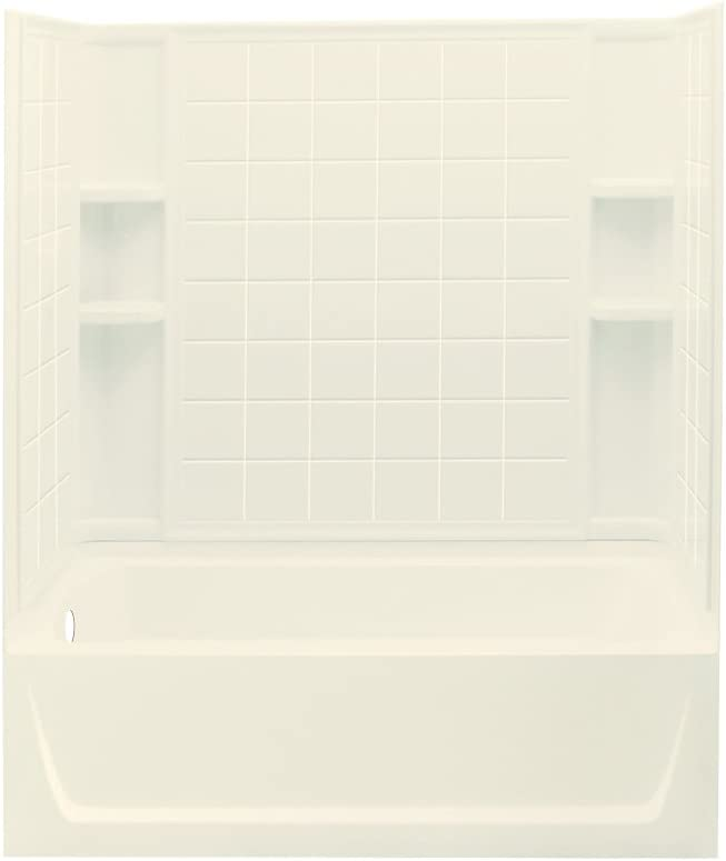 2. Sterling 71120110 Ensemble Tile Bath/Shower Combo