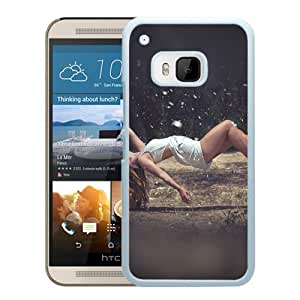 Floating Girl Sexy Art (2) Durable High Quality HTC ONE M9 Phone Case