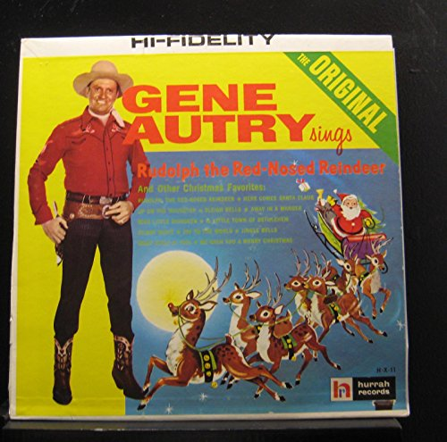 - Gene Autry - Rudolph The Red-Nosed Reindeer & Other Christmas Favorites - Lp Vinyl Record