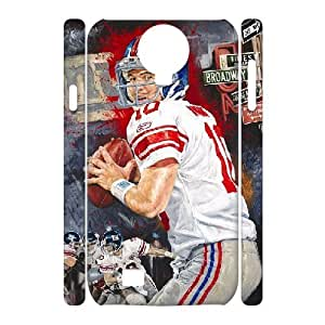 3D {Eli Manning Series} Samsung Galaxy S4 Case Champion State of Mind by Justyn Farano Features the Future Hall of Fame Quarterback Eli Manning., Funny Design Case Bloomingbluerose - White