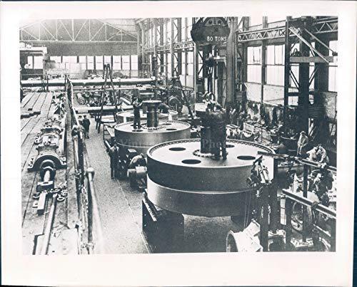 Vintage Photos 1947 Photo Star Liner Parthia Cunard White Britain Industry Ship Building 8x10