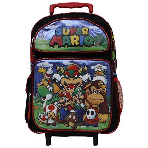 super mario rolling backpack - 4