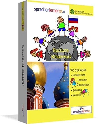 Russisch-Kindersprachkurs von Sprachenlernen24: Kindgerecht bebildert und vertont für ein spielerisches Russischlernen. Ab 5 Jahren. PC CD-ROM für Windows 10,8,7,Vista,XP / Linux / Mac OS X
