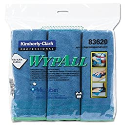 KIM83620 - KIMBERLY CLARK WYPALL Cloths w/Microban