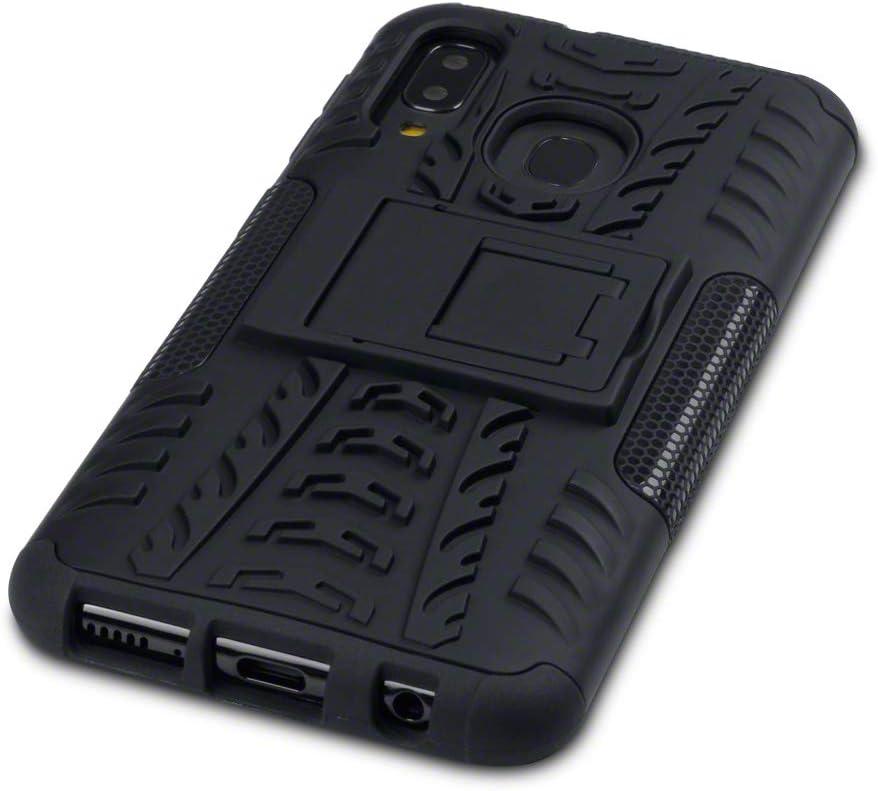 TERRAPIN Funda para Samsung Galaxy A40 Carcasa Híbrida de Doble Resistencia, y Soporte para Mesa: Amazon.es: Electrónica