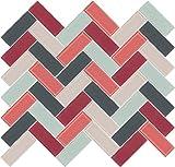 Susan Jablon Mosaics - Airport Herringbone Mosaic Blend Design