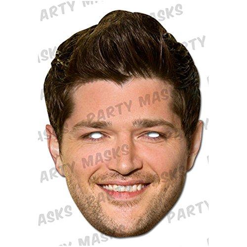 Mask-Arade Danny O'Donoghue Celebrity Face Mask