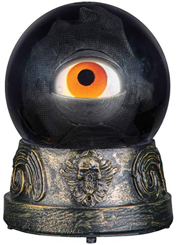Animated Crystal Ball with Floating Eyeball, 7 1/2 -