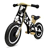 Kinderfeets Classic MakiiChalkboard Wooden Balance Bike, Classic Kids Training No Pedal Balance Bike