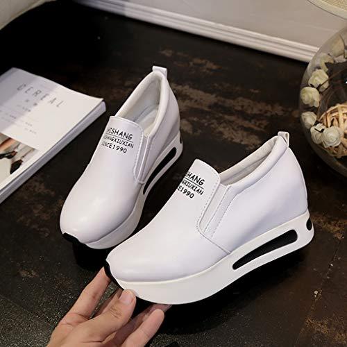 Impermeabili Piattaforma Stivali Delle Della Bianco Eleganti Da Casuali Comode Piatte Donna Spessore 1 Elegante Ginnastica Abcone Modo Di Donne Casuale Scarpe F8Xaw