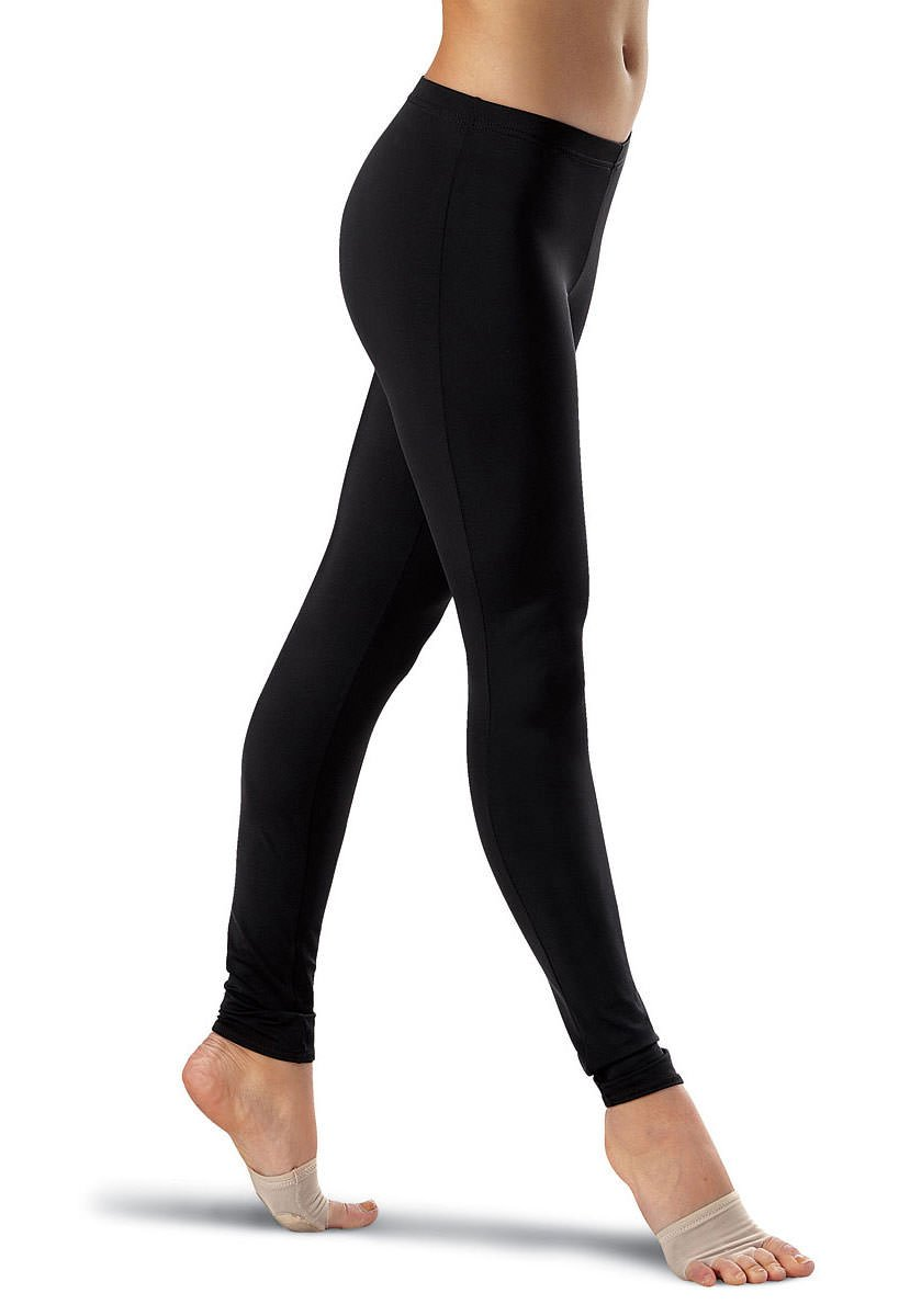 Balera Dance Leggings Ankle-Length Black Child Large by Balera
