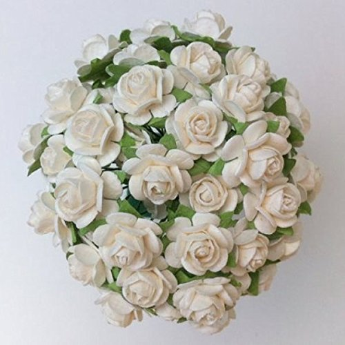 80-pcs-mulberry-paper-flowers-white-rose-12-15-mm-bouquets-decoration