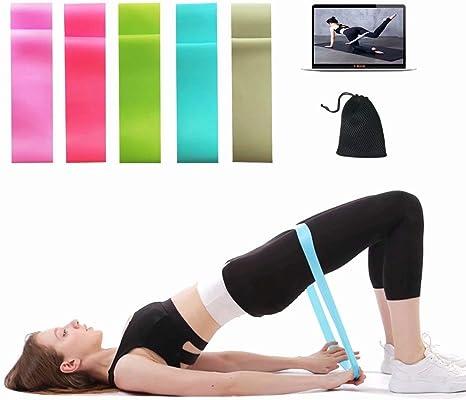 Amazon.com : K-Fit Resistance Loop Bands, Yoga Stretch Bands ...