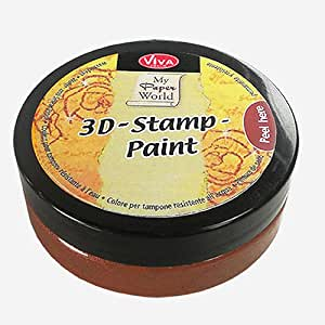Viva Decor 119390536 3D Stamp Paint, Walnut Brown