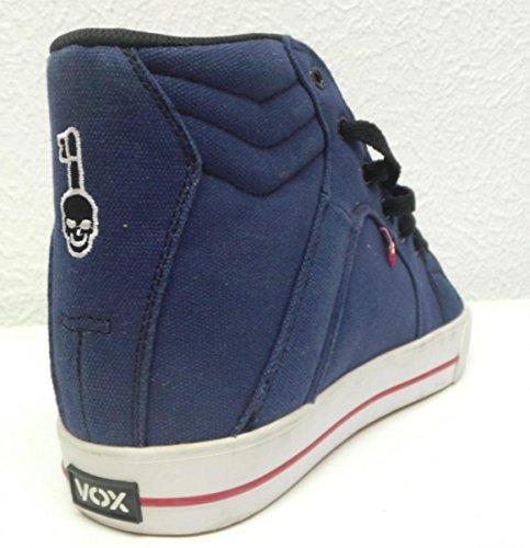 Vox Skateboard Schuhe FootWear Vamp Navy/White