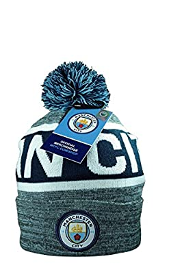 Manchester City F.C. Authentic Official Licensed Product Soccer Beanie
