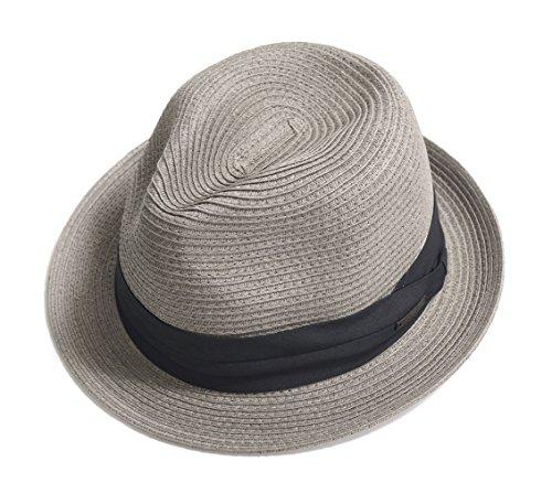 折りたたみ OK UVカット 中折れ ゴルフ ハット ストローハット 帽子