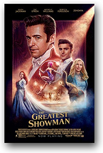 Amazon the greatest showman poster movie promo 11 x 17 hugh the greatest showman poster movie promo 11 x 17 hugh jackman faces stopboris Gallery