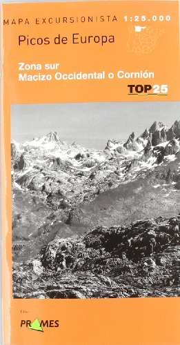 Descargar Libro Mapa Picos De Europa - Zona Sur - Macizo Occidental O Cornion ) Aa.vv.