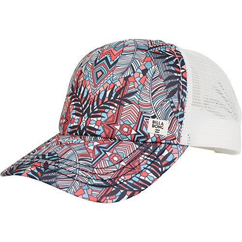 Billabong Women's Heritage Mashup Hat, Geranium, (Billabong Trucker Hat)