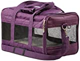 Sherpa Travel Original Deluxe Airline Approved Pet Carrier, Small, Plum