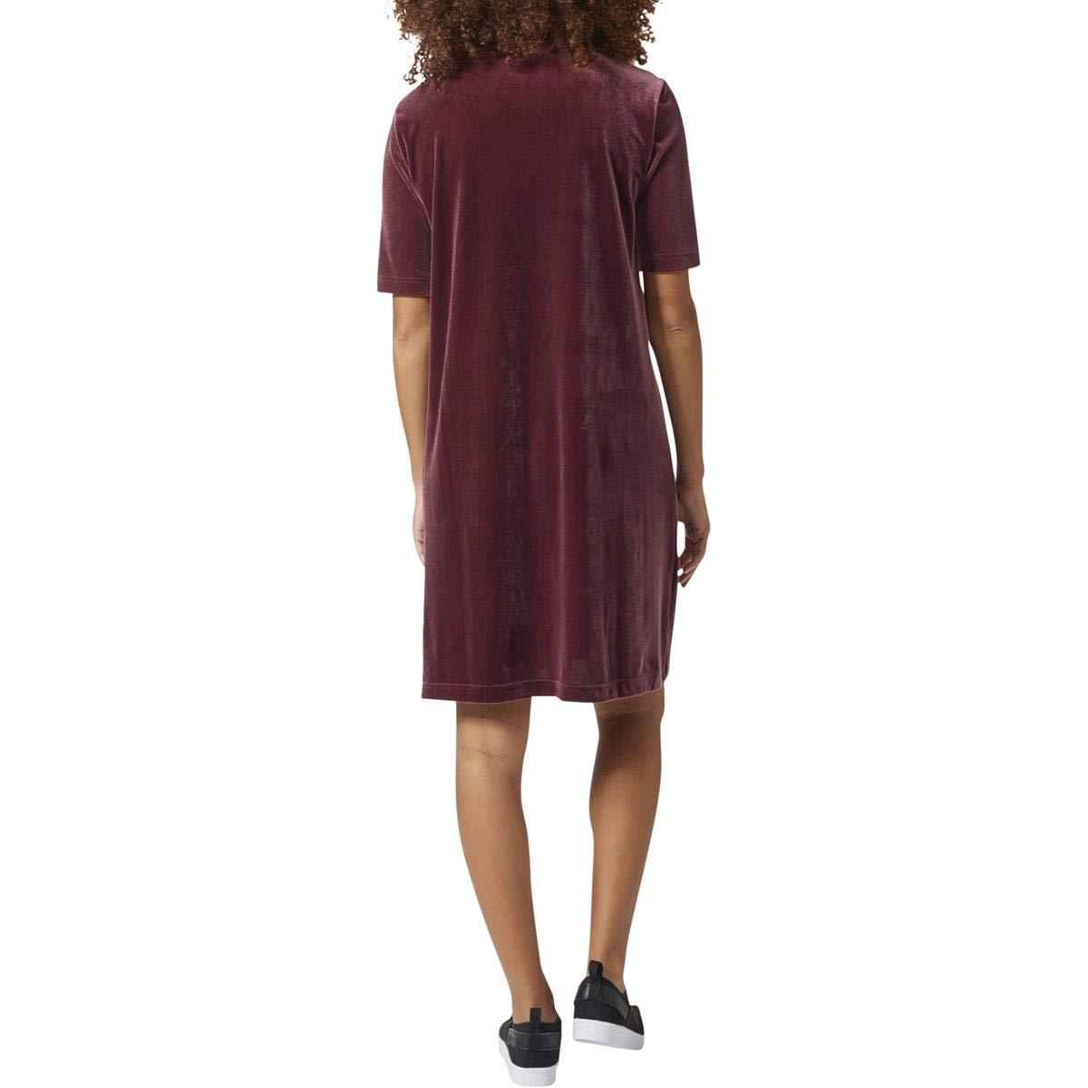 01ef31e6a008 adidas Women s Originals Velvet Vibes Short Dress CW0280 at Amazon Women s  Clothing store