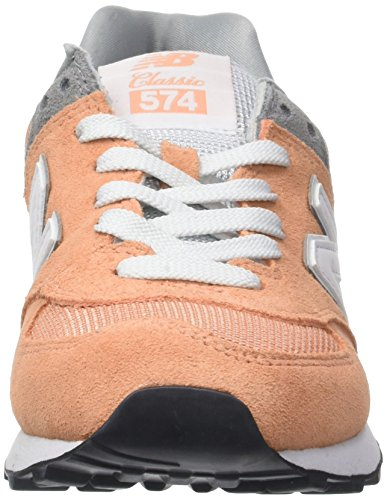 Donna Balance New Peach Sneaker 574 Rosa RqxpSA