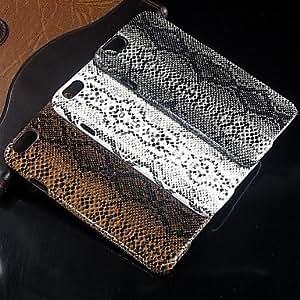 LCJ Python skin pattern Design Pattern Hard Case for iPhone 6 Plus(Assorted Color) , Black