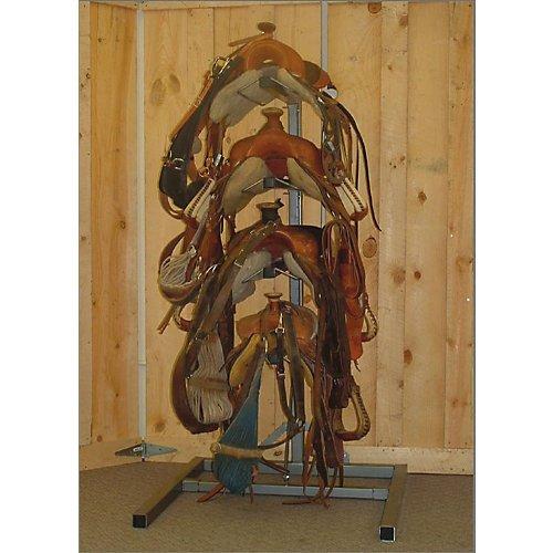 Equi-Racks Horseman 4 Saddle Rack by Equi-Racks