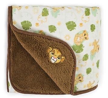 Amazon.com: Kids Line Disney Rey León Sherpa Manta para bebé ...