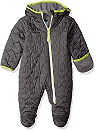 Wippette Baby Boys\' Quilted Pram, Charcoal, 12 Months