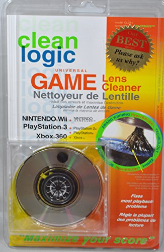 Clean Logic Game Console Lens Cleaner