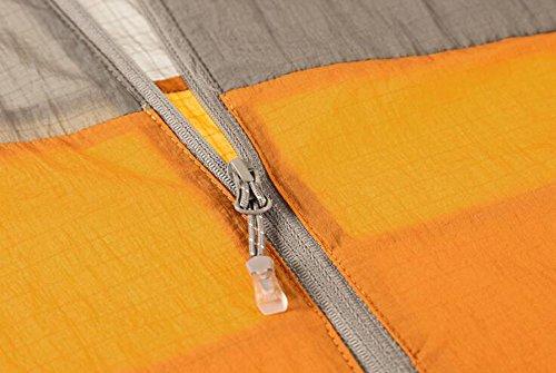 Esterna Orange Traspirante Luce Pelle Protezione Indumenti Incappucciata Di Maschile Sole xUz0Iz