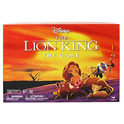 Cardinal Games Retro '90S Disney Lion King Board Game, Multicolor: Toys & Games