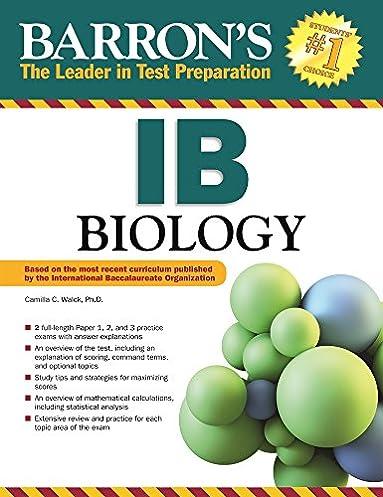 amazon com barron s ib biology 9781438003399 camilla c walck ph rh amazon com IB Biology Science IB Biology Science