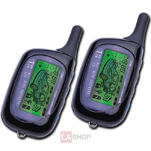 LCD Sensor Remote Car System