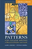 img - for Patterns for College Writing with 2009 MLA Update: A Rhetorical Reader and Guide by Laurie G. Kirszner (2009-05-26) book / textbook / text book