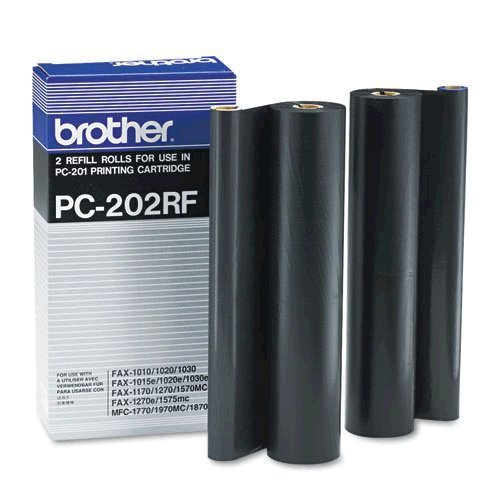 Brother Print Cartridge 2-pack (2 X 450 Yield) (pc201 Refill Kit) Brother Industries Ltd 9484 512192