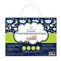 #1 BEST Crib Mattress Pad - Waterproof, Silky Soft, Hypoallergenic, Breathabl...