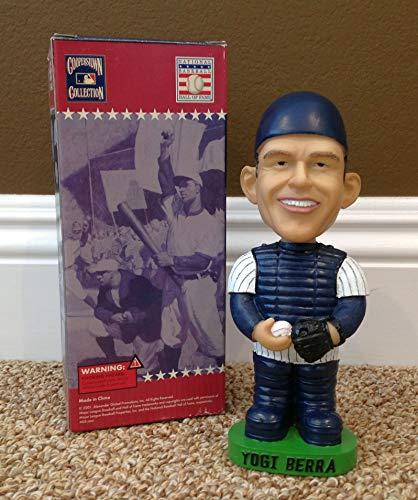Yogi Berra 2001 Cooperstown Collection Hall of Fame Series New York Yankees Legend Bobblehead SGA