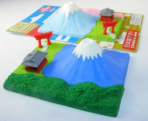 Mount Fuji Mountain Japanese Eraser Carded - Mount Fuji Mountain