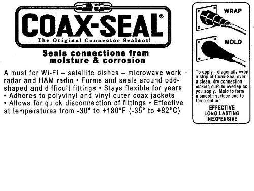 COAX-SEAL - 10-inch strip Coax Seal