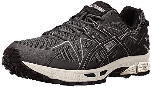 ASICS Men's Gel-Kahana 8 Trail Runner, Black/Onyx/Silver, 11.5 M US (Best Running Shoes For Low Arches 2019)