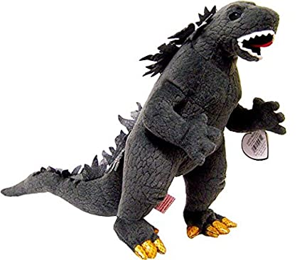 Amazon.com  Ty Godzilla RARE BLACK EYES Classic Collection Plush Toy ... b715690dbbc