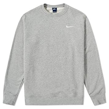 sweat shirt nike gris. Black Bedroom Furniture Sets. Home Design Ideas